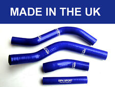 YAMAHA YZ250F YZF250 2014 2015 2016 2017 SILICONE RADIATOR HOSES PIPES KIT BLUE