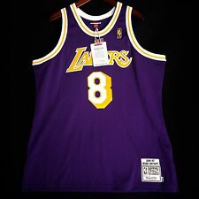 100% Authentic Kobe Bryant Mitchell & Ness NBA Lakers 96 97 Jersey Size 48 XL