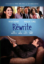 The Rewrite (DVD, 2015) Hugh Grant