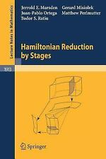 Hamiltonian Reduction by Stages (Lecture Notes in Mathematics)-ExLibrary