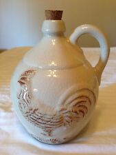 CERAMIC ROOSTER JUG WITH CORK