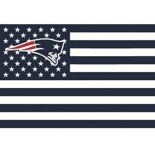 New England Patriots 3x5 Ft American Flag Football New In Packaging