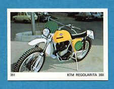 AUTO E MOTO - Figurina-Sticker n. 391 - REGOLARITA 350 -New