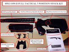 7 Position SPEC OPS Stock Heat Shield Pardner Pump Shotgun Butt Stock Forend