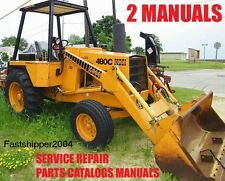 Case 480c Service Manual & PARTS CATALOGS MANUAL BEST SET 2 Manuals 480 C ON CD