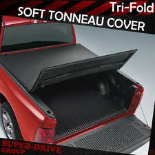 Lock Tri-Fold Tonneau Cover For 2005-2014 TOYOTA TACOMA Pickup 5' FT Short Bed