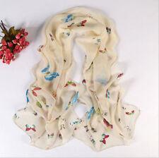 Hot Sale Fashion Stylish Women Long Soft Silk Chiffon Scarf Wrap Shawl Scarves