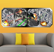 STAR WARS   ATTACK on the DEATH STAR  !!!    GIANT WINDOW VIEW   PRINTED POSTER
