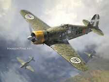 Fiat G.50 Italian Plane Limited Edition Aviation Painting Art Print Darryl Legg