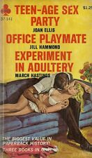 Teenage Sex Party/Office Playmate/Experiment in Adult GGA Adult Vintage VG