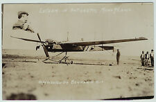 RARE - Aviation RPPC - Latham - Antionette Monoplane Airplane 1910 Real Photo