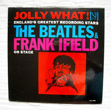 Vee-Jay Records The Beatles & Frank Ifield Jolly What! lp,  *STILL SEALED MINT!*