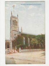 Kent, Broadstairs Church Postcard, A845
