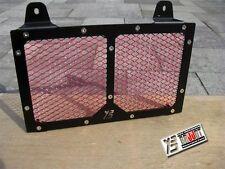 BRUUDT Kühlerabdeckung Schwarz/Rot für Yamaha MT03 MT 03 MT-03 alle Baujahren