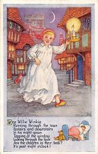 POSTCARD  CHILDREN    Wee  Willie  Winkle.....