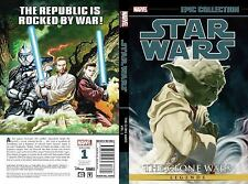 STAR WARS LEGENDS EPIC COLLECTION - THE CLONE WARS 1 NEW PAPERBACK BOOK
