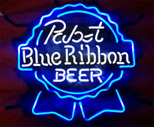 """New Pabst Blue Ribbon Beer Lager Neon Light Sign 17""""x14"""""""
