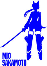 Strike Witches Mio Sakamoto character decal