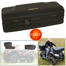 ATV Storage Case Box Cargo Carrier Container Rack Rear Front Mount Luggage Trunk