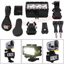 Waterproof Diving Spot Light LED Mount for Sony Action Cam HDR-AS15/20/30/AS100V