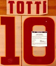 2014-15 AS Roma Away Shirt TOTTI#10 OFFICIAL StilScreen Name Number Set