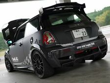 CARBON FIBER DUELL AG STYLE REAR ROOF SPOILER WING FOR MINI COOPER S R56