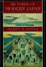 The Making of Modern Japan by Marius B. Jansen (2000, Paperback)