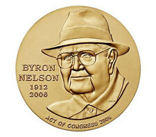 Byron Nelson Bronze Medal 1.5 Inch Golf Teacher Player Champion