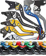 2011-2015 GSXR 750 SUZUKI PAZZO RACING LEVERS - ALL COLORS AND LENGTHS