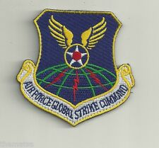AIR FORCE GLOBAL STRIKE COMMAND USAF HOOK LOOP EMBROIDERED PATCH