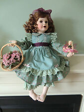 The Hamilton Collection Porcelian Doll Claire by Beverly Parker
