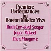 Premiere Performances (Boston Musica Viva) CD NEW