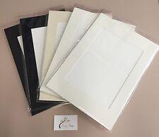 5 x Professional Picture Framing Mat Boards A3 Mount Kits - Window Custom Cut.