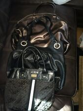 Lot Of 3 Handbags Tommy Hilfiger, Maurices , Landcome  Black & brown