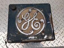 Antique GE Car Radio - Vacuum Tube AM