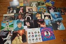 ELVIS PRESLEY LP VINYL RECORD LOT OF 30