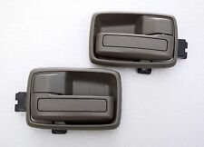 ISUZU TF TFR KB KBZ HOLDEN RODEO PAIR INNER DOOR HANDLE DARK GRAY 1 PAIR R/L