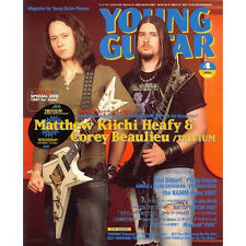 Young Guitar Apr/07 Trivium Philip Sayce Angra Paul Gilbert Syu Galneryus