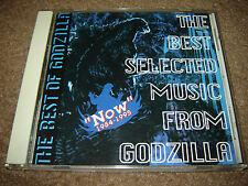 """GODZILLA """"Now"""" 1984-1995 Original Japan CD Akira Ifukube # TYCY-5465 Exc! OBI"""
