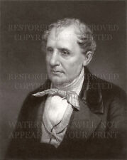 James Fenimore Cooper portrait engraving repro print photo CHOICE 5x7 or 8x10 or