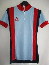 Maillot cycliste vintage Le Coq sportif Made in France Ancien TBE - 0 / XS