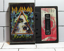 Def Leppard - Hysteria - Cassette Tape - Album - Tested