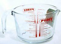 Pyrex Classic Messbecher 1 L Rührschüssel Messkanne Literbecher Dosierhilfe