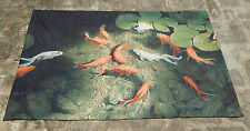 Vintage Fishes in Pounds Scene Tapestry 147x87cm (A740)