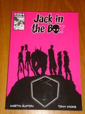 JACK IN THE BOX C2D4 COMICS MARTIN BUXTON GRAPHIC NOVEL 9780956306906