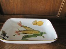 Royal Worcester~Evesham Gold~26cmsX16cms Oven to table Dish/ Deep Pie Plate