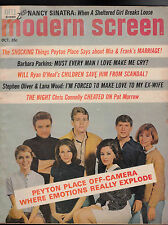 Modern Screen Magazine Peyton Place Nancy Sinatra Lana Wood October 1966