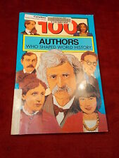 """OLDER 1996 BOOK """"100 AUTHORS WHO SHAPED WORLD HISTORY"""" BY CHRISTINE N. PERKINS"""