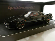 IG0405 ignition model 1:18 Honda NSX NA1 Black