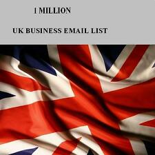 UK Business Database & Email List with Phone Numbers 1000k for Email Marketing